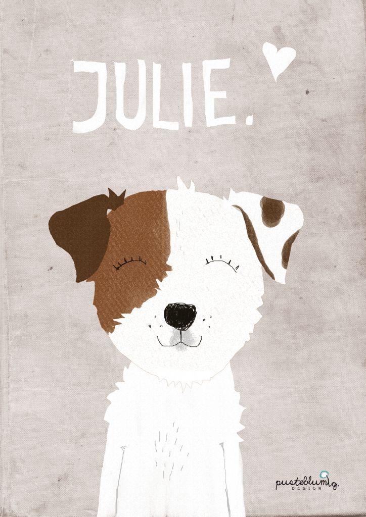 Julie Pusteblumig